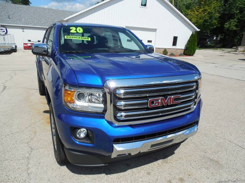 2020 GMC Canyon for sale at Streich Motors Inc in Fox Lake WI