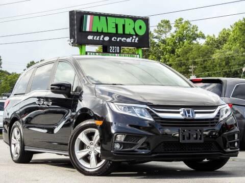 2018 Honda Odyssey for sale at Metro Auto Credit in Smyrna GA