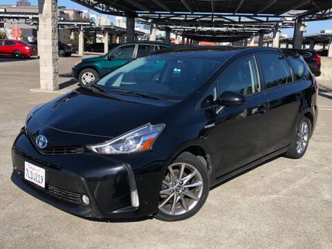 2015 Toyota Prius v for sale at CITY MOTOR SALES in San Francisco CA