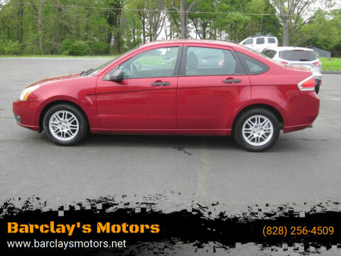 2010 Ford Focus for sale at Barclay's Motors in Conover NC