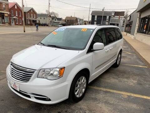 2016 Chrysler Town and Country for sale at Big A  Auto Sales & Service in Dubuque IA