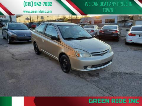 2003 Toyota ECHO for sale at Green Ride Inc in Nashville TN