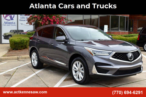 2019 Acura RDX for sale at Atlanta Cars and Trucks in Kennesaw GA