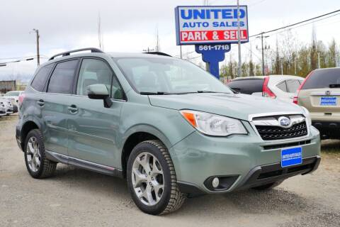 2016 Subaru Forester for sale at United Auto Sales in Anchorage AK