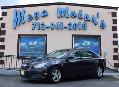 2014 Chevrolet Cruze for sale at MEGA MOTORS in South Houston TX