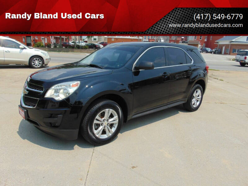 2011 Chevrolet Equinox for sale at Randy Bland Used Cars in Nevada MO