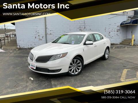 2013 Lincoln MKS for sale at Santa Motors Inc in Rochester NY