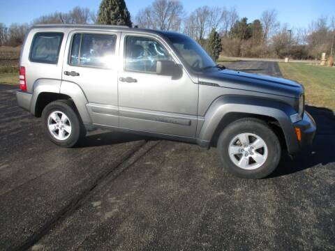 2012 Jeep Liberty for sale at Crossroads Used Cars Inc. in Tremont IL