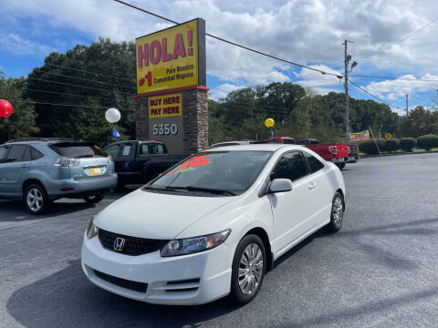 2010 Honda Civic for sale at No Full Coverage Auto Sales in Austell GA