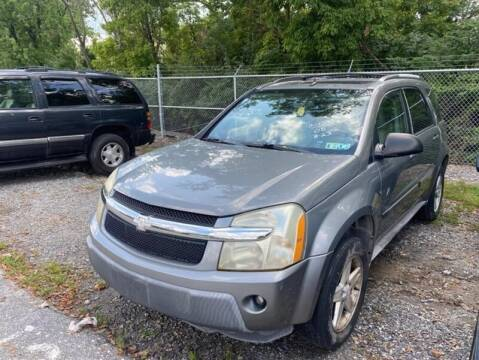 2005 Chevrolet Equinox for sale at Jeffrey's Auto World Llc in Rockledge PA
