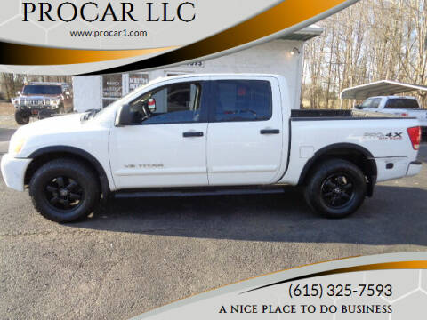 2012 Nissan Titan for sale at PROCAR LLC in Portland TN