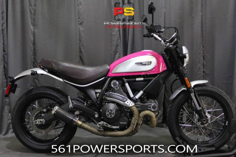 2016 Ducati Scrambler Full Throttle for sale at Powersports of Palm Beach in Hollywood FL
