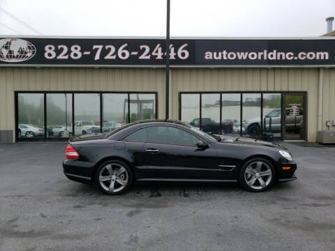 2009 Mercedes-Benz SL-Class for sale at AutoWorld of Lenoir in Lenoir NC