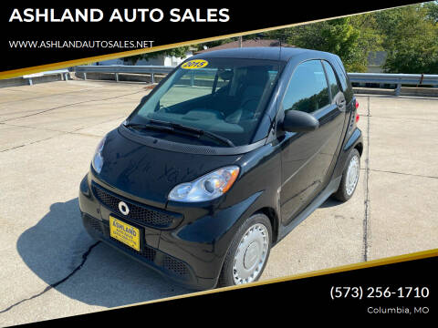 2015 Smart fortwo for sale at ASHLAND AUTO SALES in Columbia MO