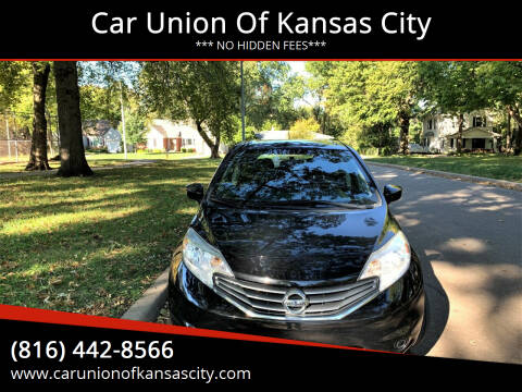 2016 Nissan Versa Note for sale at Car Union Of Kansas City in Kansas City MO