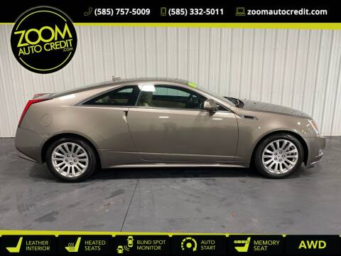 2012 Cadillac CTS for sale at ZoomAutoCredit.com in Elba NY