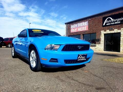 2011 Ford Mustang for sale at AUTO BARGAIN, INC. #2 in Oklahoma City OK