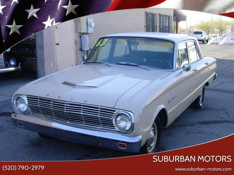 1963 Ford Falcon for sale at Suburban Motors in Tucson AZ