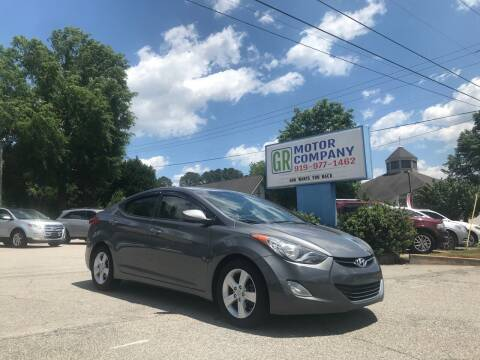 2013 Hyundai Elantra for sale at GR Motor Company in Garner NC