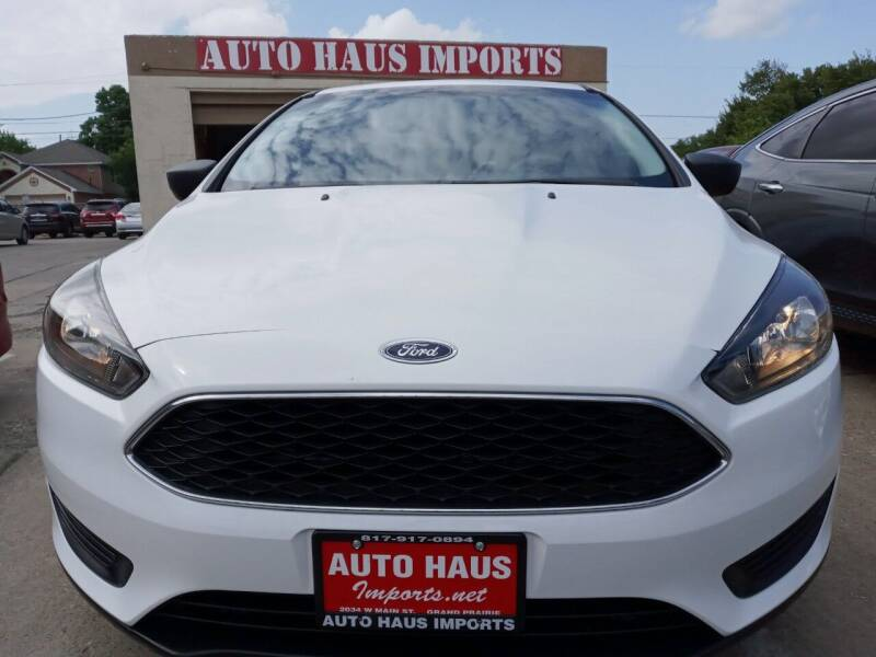2017 Ford Focus for sale at Auto Haus Imports in Grand Prairie TX