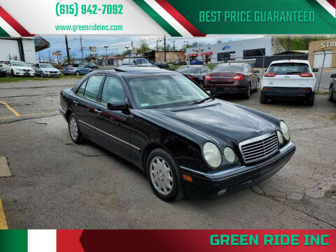 1999 Mercedes-Benz E-Class for sale at Green Ride Inc in Nashville TN