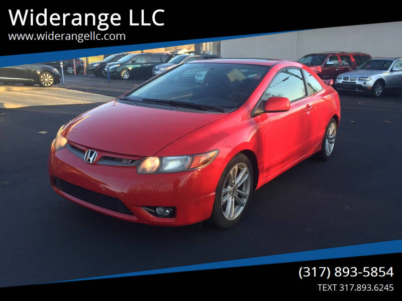 2008 Honda Civic for sale at Widerange LLC in Greenwood IN