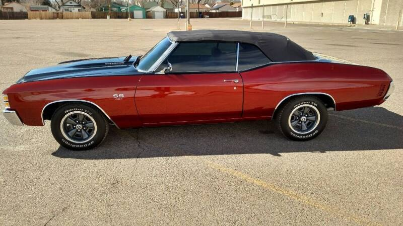 1971 Chevrolet Chevelle for sale at Discount Motors in Pueblo CO