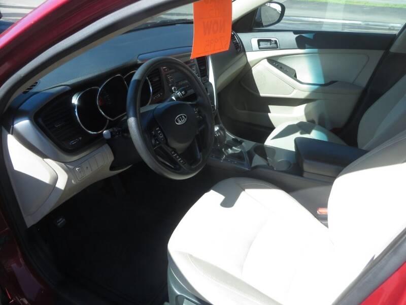 2012 Kia Optima LX 4dr Sedan 6A - Concord NH