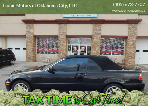 2004 BMW 3 Series for sale at Iconic Motors of Oklahoma City, LLC in Oklahoma City OK