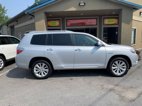 2008 Toyota Highlander Hybrid for sale at Advantage Auto Sales in Garden City ID