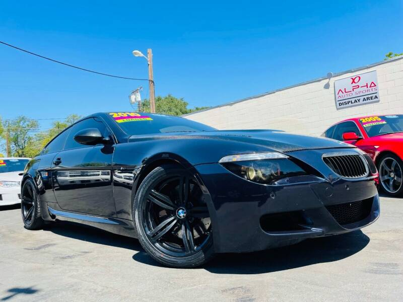 2010 BMW M6 for sale at Alpha AutoSports in Roseville CA