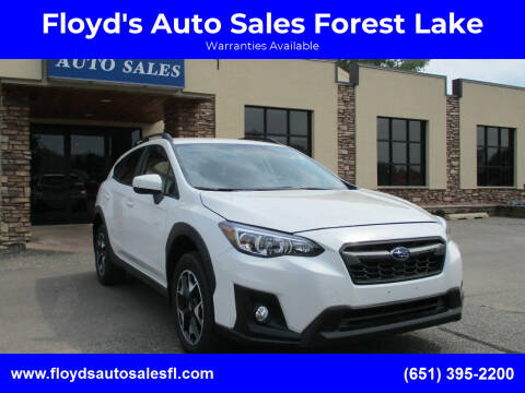 2019 Subaru Crosstrek for sale at Floyd's Auto Sales Forest Lake in Forest Lake MN