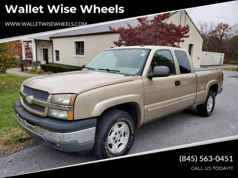 2005 Chevrolet Silverado 1500 for sale at Wallet Wise Wheels in Montgomery NY