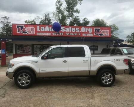 2013 Ford F-150 for sale at LA Auto Sales in Monroe LA