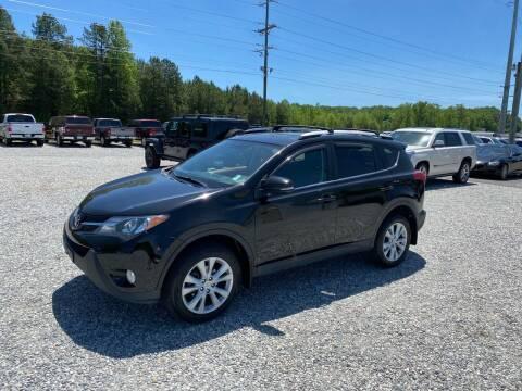 2013 Toyota RAV4 for sale at Billy Ballew Motorsports in Dawsonville GA
