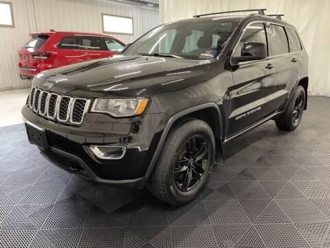 2017 Jeep Grand Cherokee for sale at Monster Motors in Michigan Center MI