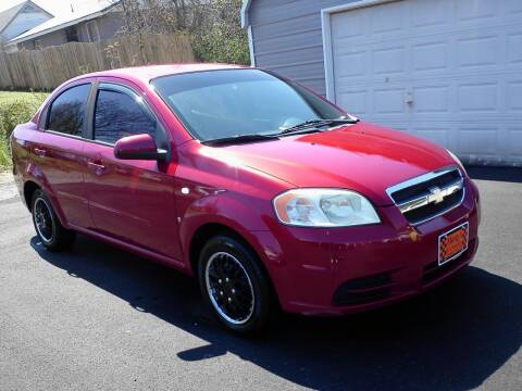 2008 Chevrolet Aveo for sale at Marty's Auto Sales in Lenoir City TN