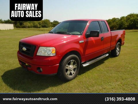 2006 Ford F-150 for sale at FAIRWAY AUTO SALES in Augusta KS