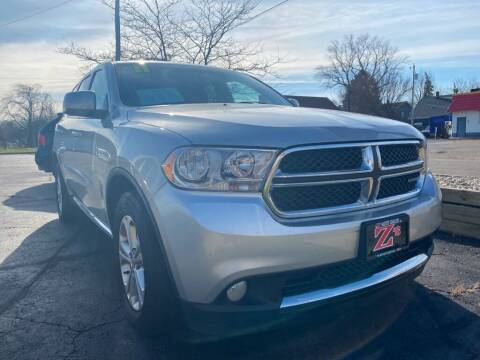 2011 Dodge Durango for sale at Zs Auto Sales in Kenosha WI