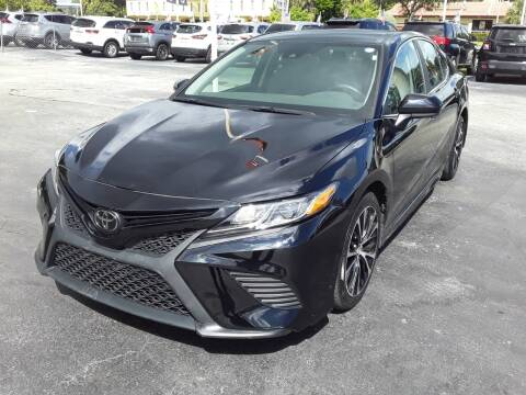2020 Toyota Camry for sale at YOUR BEST DRIVE in Oakland Park FL