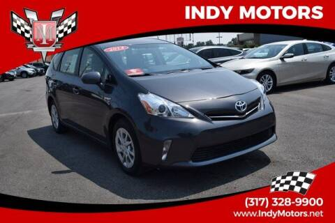 2014 Toyota Prius v for sale at Indy Motors Inc in Indianapolis IN