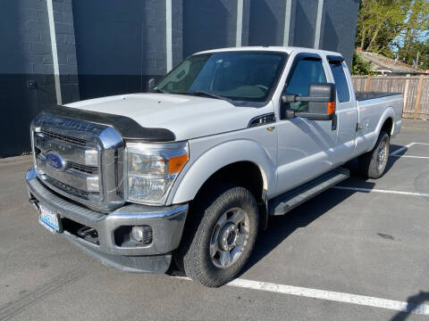 2012 Ford F-250 Super Duty for sale at APX Auto Brokers in Lynnwood WA