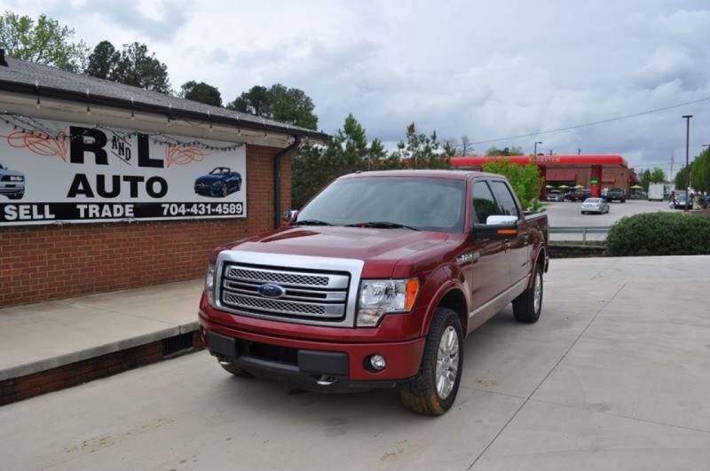 2014 Ford F-150 for sale at R & L Autos in Salisbury NC