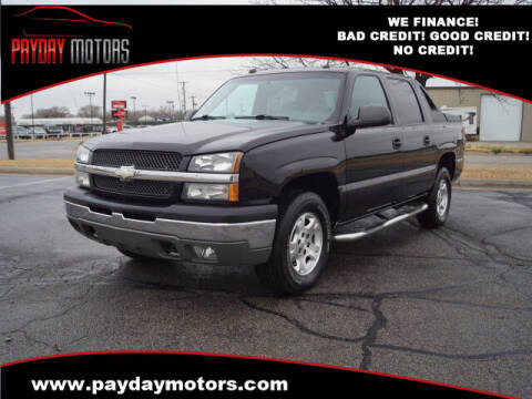 2004 Chevrolet Avalanche for sale at Payday Motors in Wichita And Topeka KS