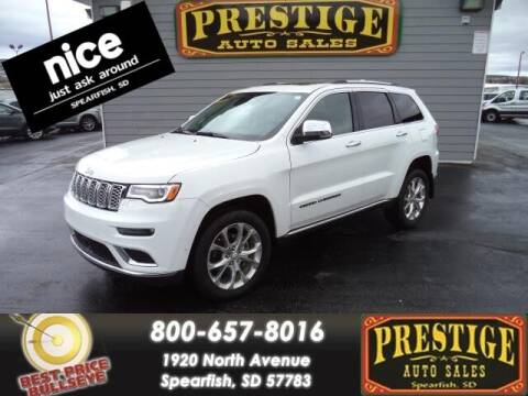 2019 Jeep Grand Cherokee for sale at PRESTIGE AUTO SALES in Spearfish SD
