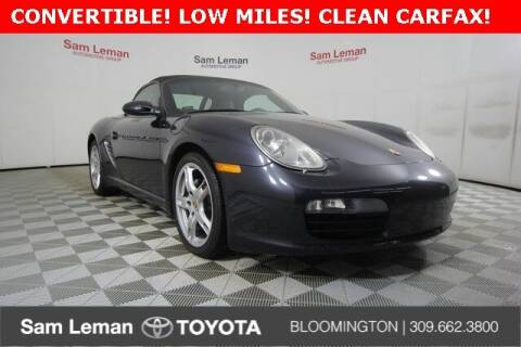 2007 Porsche Boxster for sale at Sam Leman Toyota Bloomington in Bloomington IL