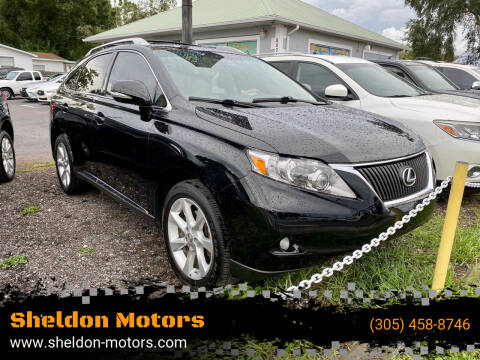 2011 Lexus RX 350 for sale at Sheldon Motors in Tampa FL