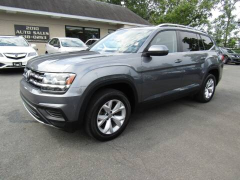 2018 Volkswagen Atlas for sale at 2010 Auto Sales in Troy NY
