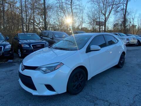 2014 Toyota Corolla for sale at Car Online in Roswell GA