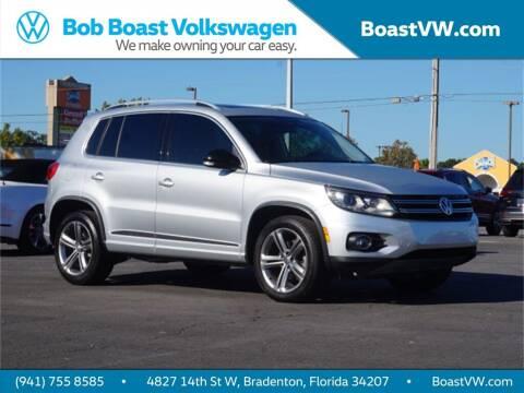 2017 Volkswagen Tiguan for sale at Bob Boast Volkswagen in Bradenton FL